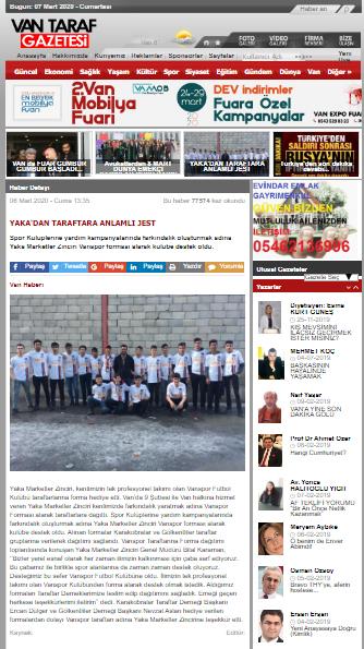 Vantaraf Gazetesi