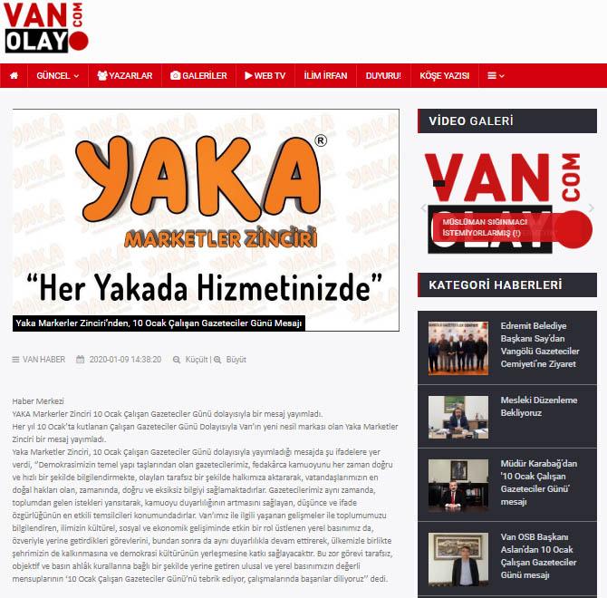 Van Olay Gazetesi